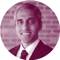 Headshot of Vivek Murthy