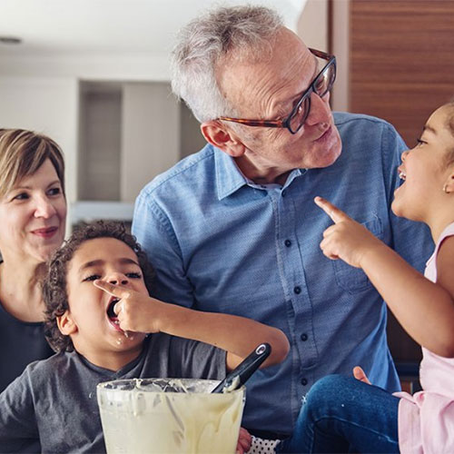 Living in a multigenerational household before and during COVID-19
